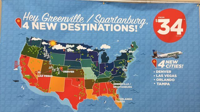 Frontier Becomes Sixth Airline To Offer Flights From