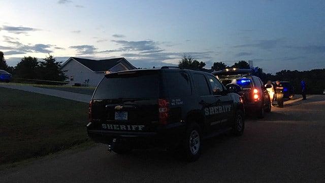 Scene on Stanmoore Drive. (6/19/18 FOX Carolina)