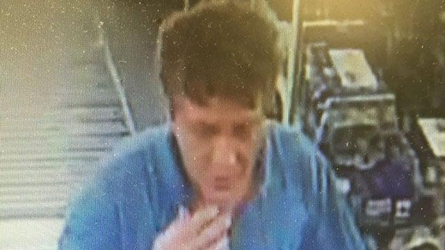 Surveillance photo of suspect (Source: GPD)