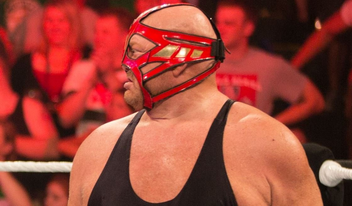 Vader in the WWE (Source: Wikimedia Commons)