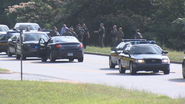 Deputies on Bruce Road (June 21, 2018/ FOX Carolina)