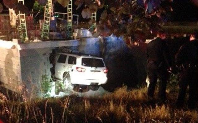 Crash at Asheville construction site (Source: Asheville FD)