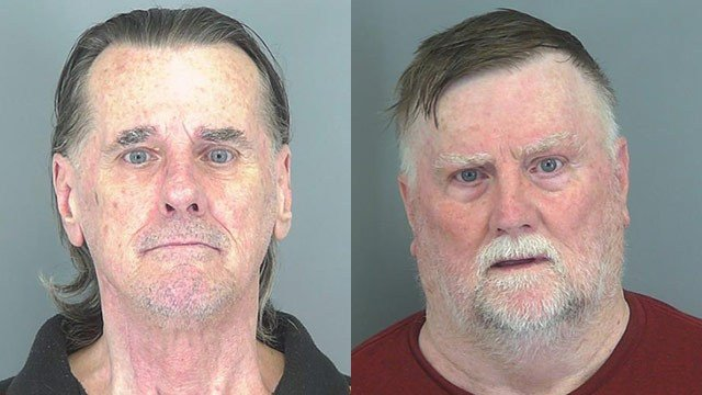 Michael Long (L) and William Long (Source: Spartanburg Co. Detention)
