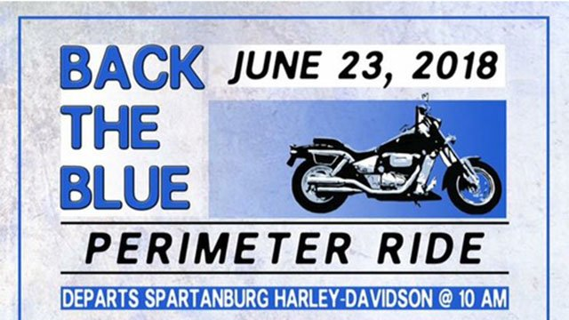 Spartanburg Harley Owners Group fundraising event (Source: Spartanburg Co. Sheriff's Office)