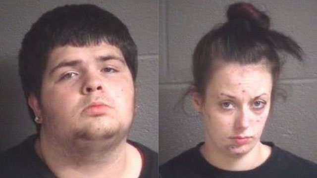 Dustin Lee Becht and Heather Felkel (Source: BCSO)