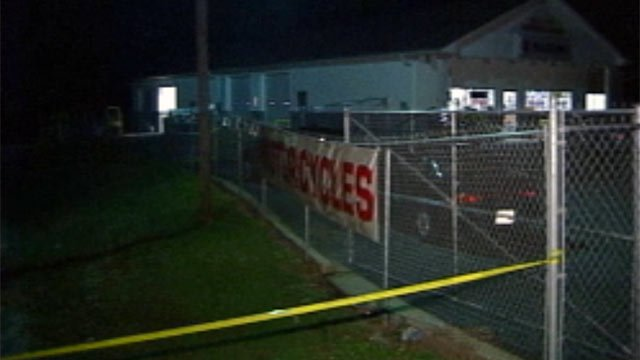 Scene of the unsolved 2003 quadruple homicide at Superbike Motorsports in Chesnee. (File/FOX Carolina)