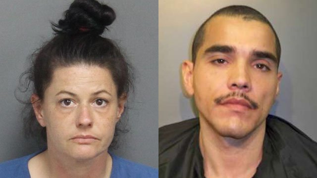Kerrie Wilson (Left) and Kristopher Burton (Source: LCSO)