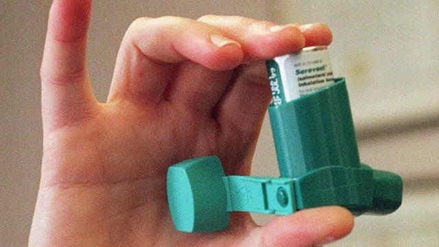 Inhaler (Source: Associated Press)