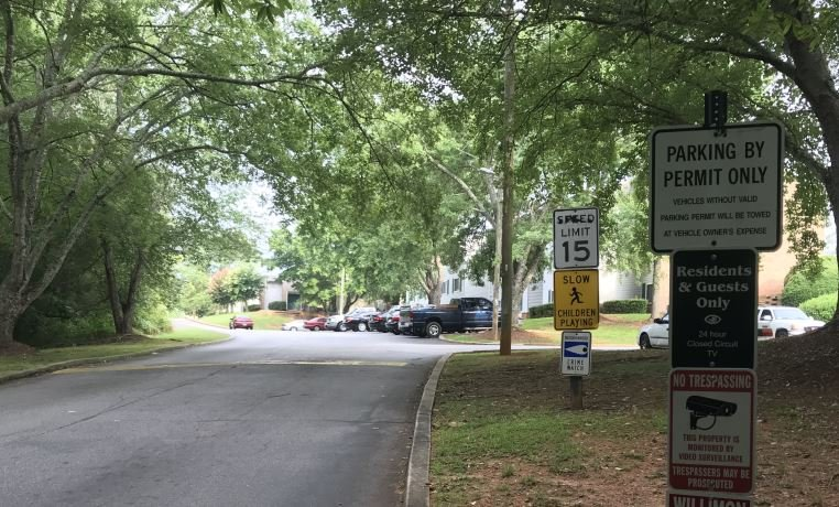 Deputies said a man and woman were shot at these apartment on Crestwood Forest Drive (FOX Carolina/ July 14, 2018)