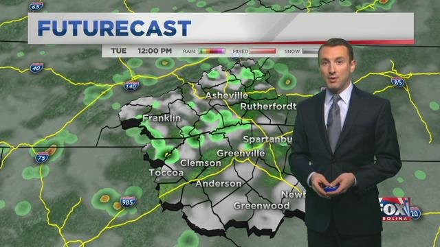 A new round of storms in store for Tuesday