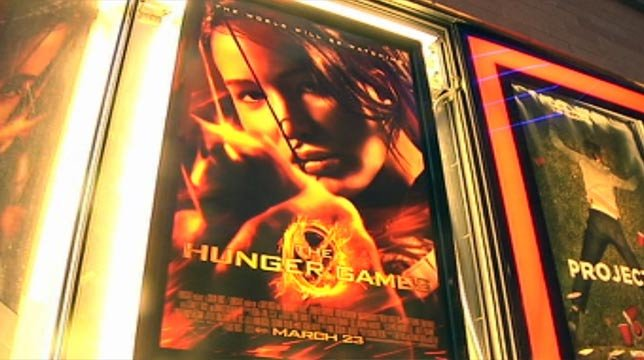 """The Hunger Games"" opened at midnight Friday morning in theatres across the country. (Mar. 23, 2012/FOX Carolina)"