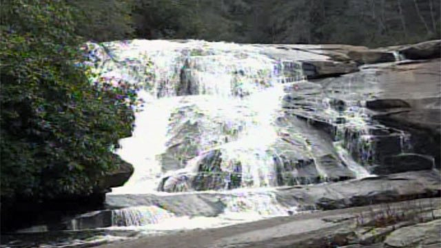 "Triple Falls is featured in the new movie based on the popular books ""The Hunger Games."" (Mar. 23, 2012/FOX Carolina)"