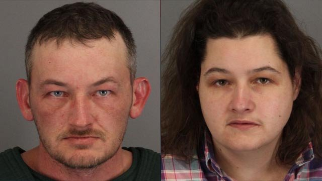 From left to right: Jesse and Angela Gates (Spartanburg Co. Sheriff's Office)