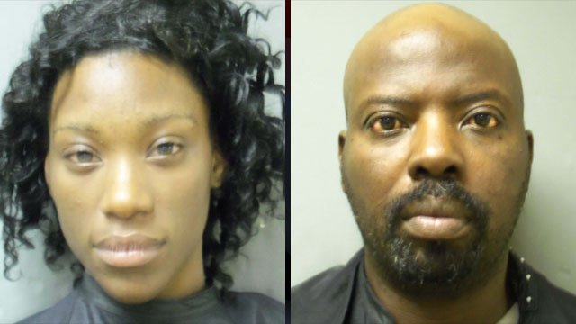 From left to right: Shanique Jackson and Stanley Witcher. (Anderson Police Dept.)