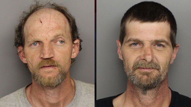 From left to right: Chad Howard and Scottie Howard. (Greenville Co. Detention Center)