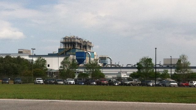 Michelin will build its new tire plant next to the existing facility in Starr. (April 10, 2012/FOX Carolina)