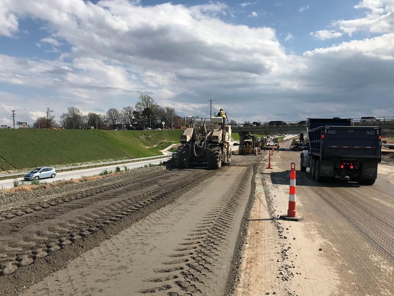 Gateway Project Work (Source: I-85/385 Gateway Project)