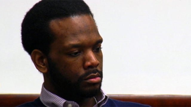Clarence Jenkins Jr. appears in court. (April 10, 2012/FOX Carolina)