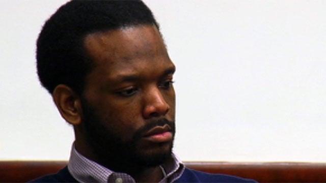 Clarence Jenkins Jr. appears in court. (April 10, 2012/FOX Carolina)