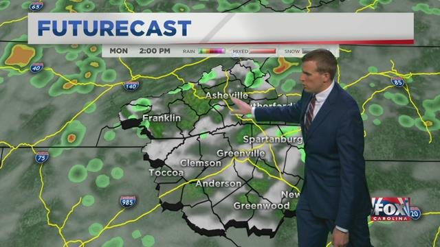 BUS STOP FORECAST: No rain in the morning, but some possible in the afternoon