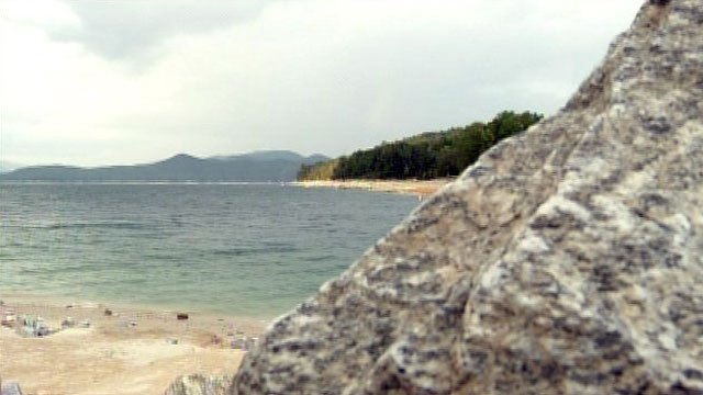 Lake Jocassee is located along the border of Pickens and Oconee counties. (File/FOX Carolina)