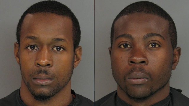 From left to right: Corey Scott and Darius Williams (Anderson Co. Sheriff's Office)