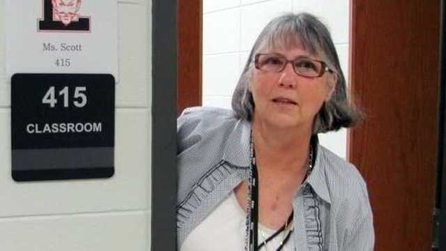 Liberty High School teacher Pam Scott is seen in this undated photograph. (Pickens Co. School District)