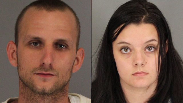 From left to right: Joshua Moton and Nicole Dicosola (Spartanburg Co. Sheriff's Office)