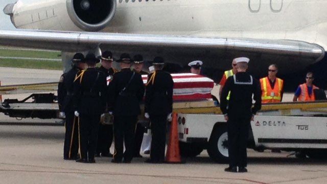 The body of fallen Navy sailor Justin Reif returns to the Upstate Friday. (April 20, 2012/FOX Carolina)