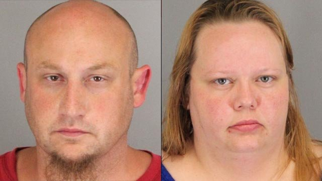 From left to right: Donnie Bragg Jr. and Tina Thomas (Spartanburg Co. Sheriff's Office)