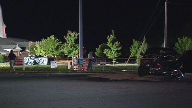 Troopers say a Gray Court man was killed after running a red light along Harrison Bridge Road on Sunday. (April 29, 2012/FOX Carolina)
