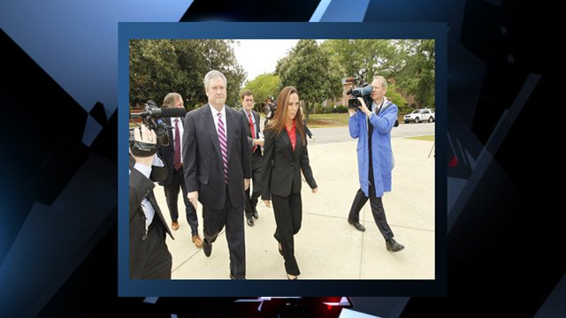 Rachel Duncan appears at court in Columbia. (Courtesy WACH FOX)