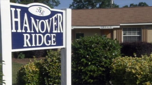 The Hanover Ridge apartments are located on Dooley St. in Anderson. (May 2, 2012/FOX Carolina)