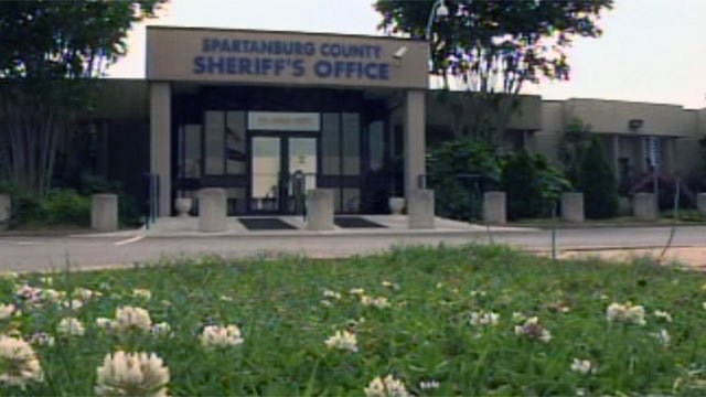 The Spartanburg Co. Sheriff's Office is located on Howard St. in Spartanburg. (May 1, 2012/FOX Carolina)