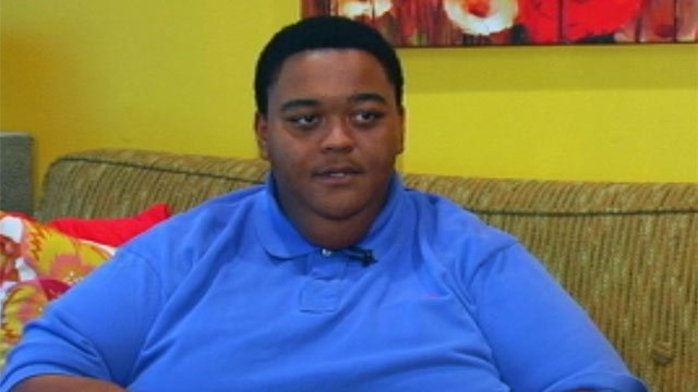 Alex Draper talks to FOX Carolina about his weight loss and his new life. (FOX Carolina)