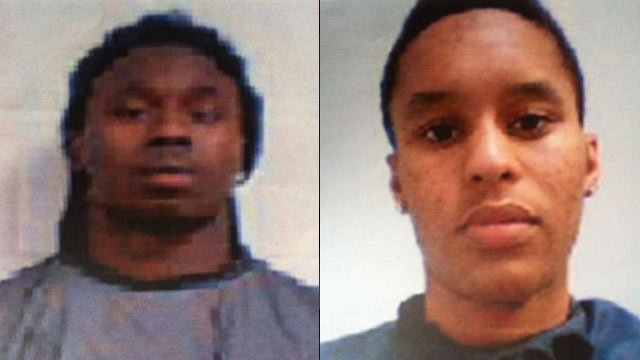 From left to right: Sammy Watkins and Amadou Dia (Clemson University Police Dept.)