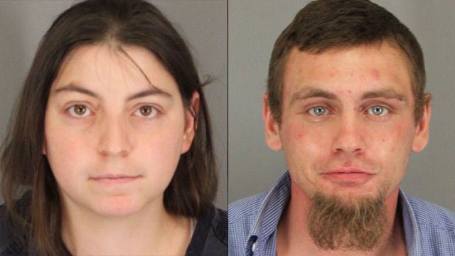 From left to right: Samantha Burgess and Cory Dunn (Spartanburg Co. Sheriff's Office)