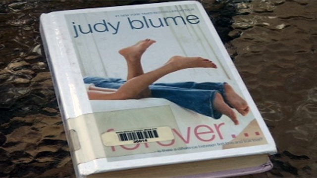The Judy Blume book that has many Wren Middle School parents upset. (File/FOX Carolina)