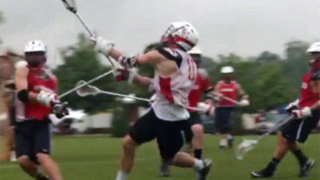 Upstate players compete in a game of lacrosse. (File/FOX Carolina)