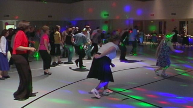 Members of Upstate Christian Singles dance at one of their local events. (File/FOX Carolina)