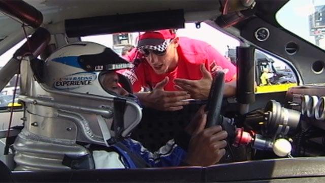 Will Jones prepares to race at Charlotte Motor Speedway. (File/FOX Carolina)