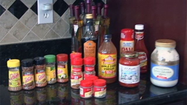 Some of the items Coop's Ultra Fit founder John Defendis recommends dieters have in their kitchens. (File/FOX Carolina)