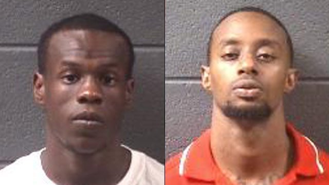From left to right: Antonio Boseman Jr. and Clarence Shivers. (Asheville Police Dept.)