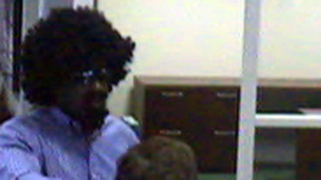 Greenville police say this man held up a TD Bank branch. (June 16, 2012/Greenville Police Dept.)