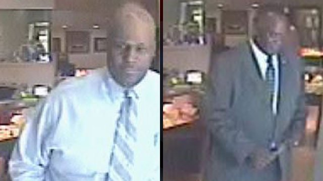 Spartanburg police say these men stole a $13,000 Rolex from a jewelry store. (June 18, 2012/Spartanburg Public Safety Dept.)
