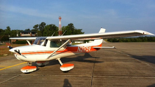 One of the planes that will be on display and flying at Saturday's expo. (June 21, 2012/FOX Carolina)