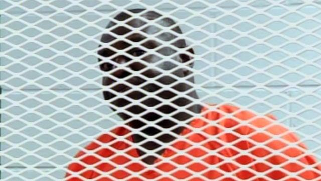 Leonard Edwards Jr. appears before a judge where he was denied  bond. (June 21, 2012/FOX Carolina)