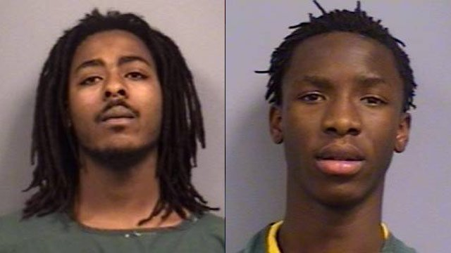 From left to right: Chadrin Flemon and Maleik Houseal. (Newberry Co. Sheriff's Office)