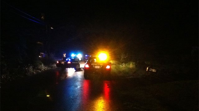 Deputies at the scene of a shooting along Farley Avenue. (July 2, 2012/FOX Carolina)