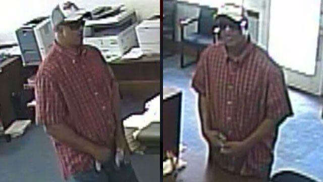 Union police say this man held up a finance store. (July 2, 2012/FOX Carolina)